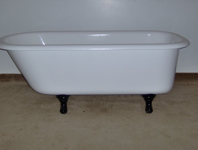 Countertop refinishing porcelain reglazing in spencer for Porcelain bathtubs for sale
