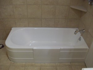Bathtub refinishing tile resurfacing in worthington mn for Porcelain bathtubs for sale